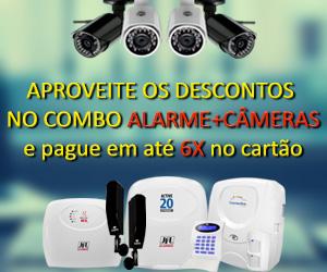 cameras alarmes cerca elétrica